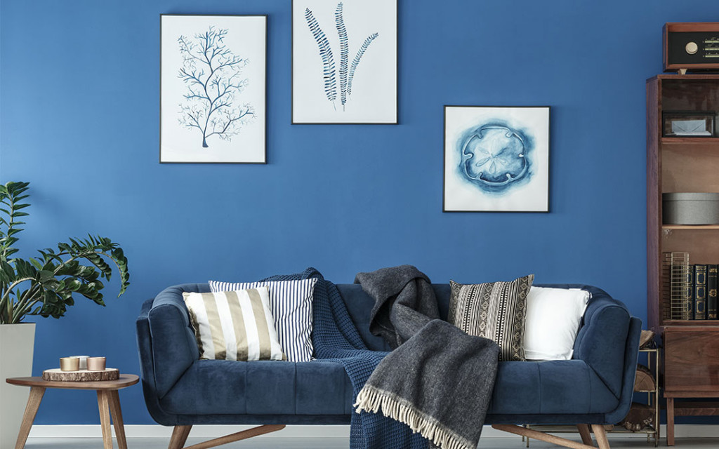 10 Paint Colors That Go Well With Shades Of Blue For Home