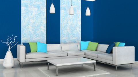 living-room-painted-with-shades-of-blue