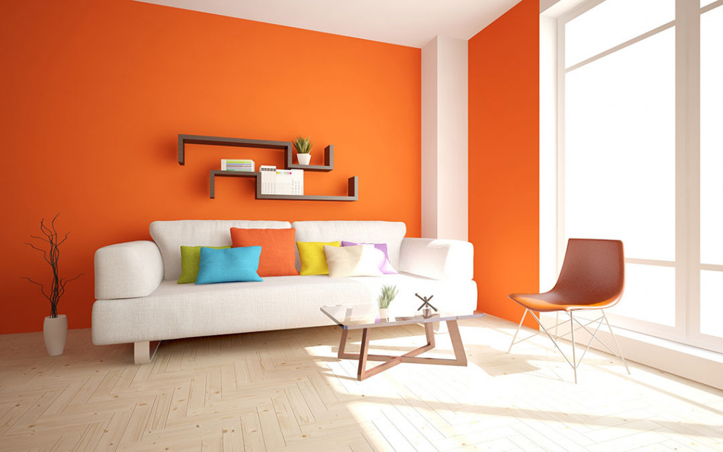 orange-paint-colour-for-living-room
