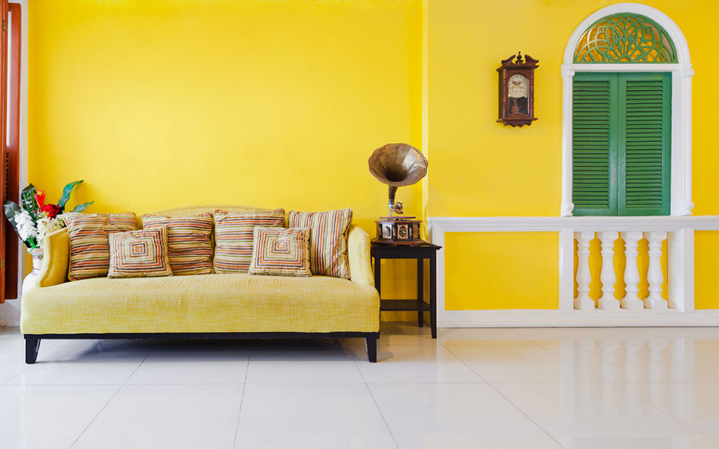 yellow-wall-interior-paint-colour