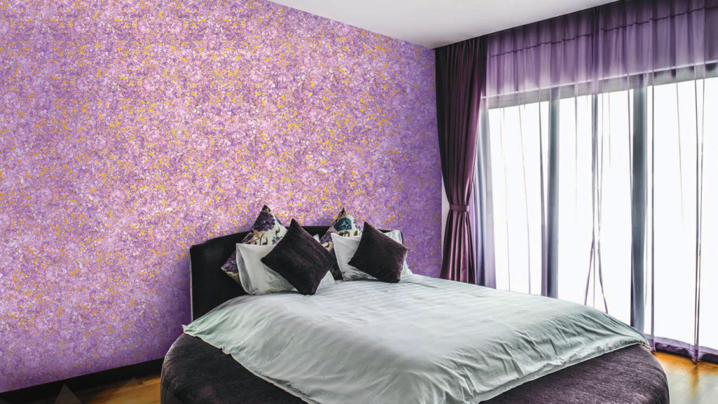 Purple-color-texture-desigsn-for-your-bedoom