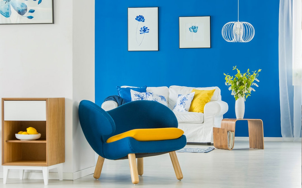 Using-accent-walls-in-living-room-attracts-people