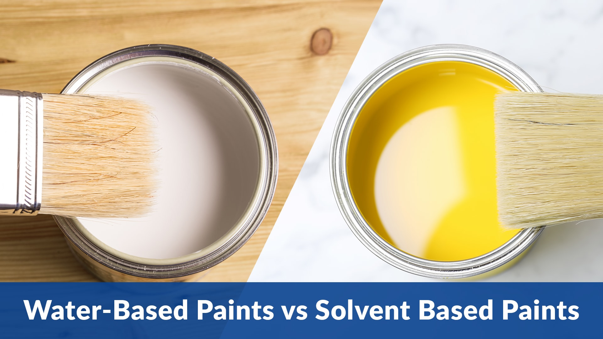 Difference Between Water Based Paints And Solvent Based