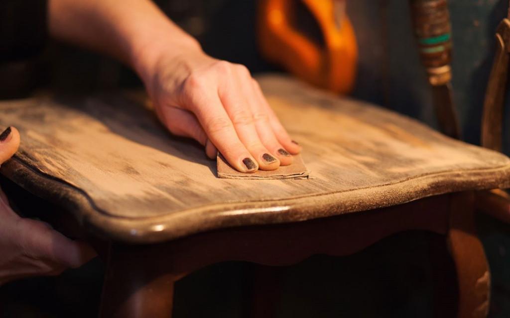 wood painting ideas