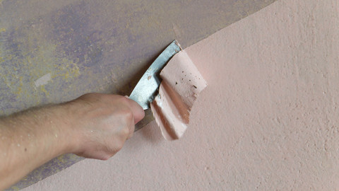 Steps to remove paint from metal surface