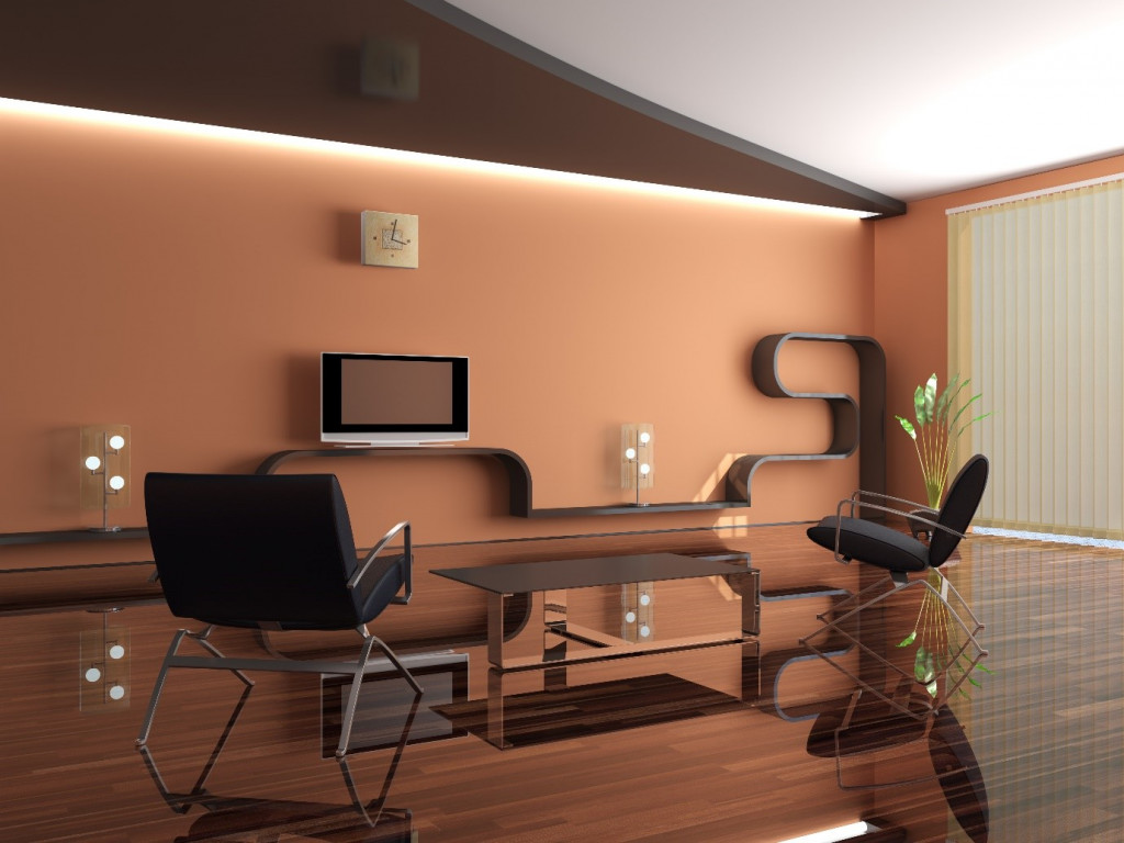 6 Luxurious Interior Wall Designs | Wall Painting Designs ... on House Painting Ideas  id=98492