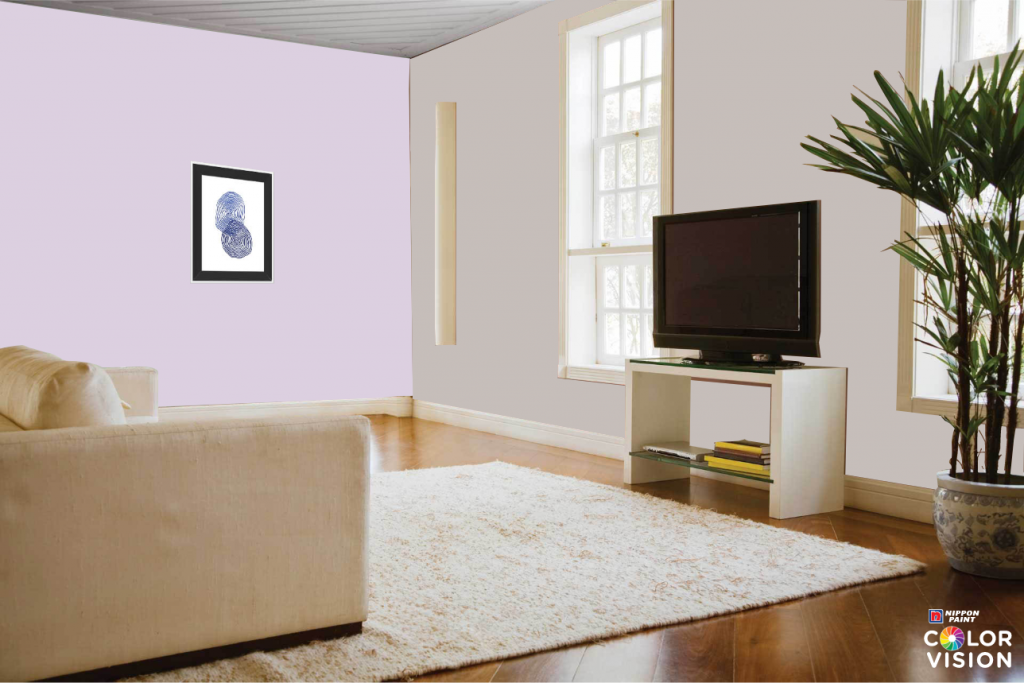 Drifting Lavender wall colour ideas
