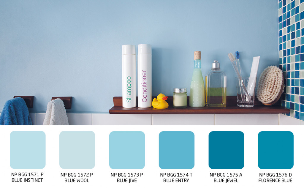 wall colour for bathrooms