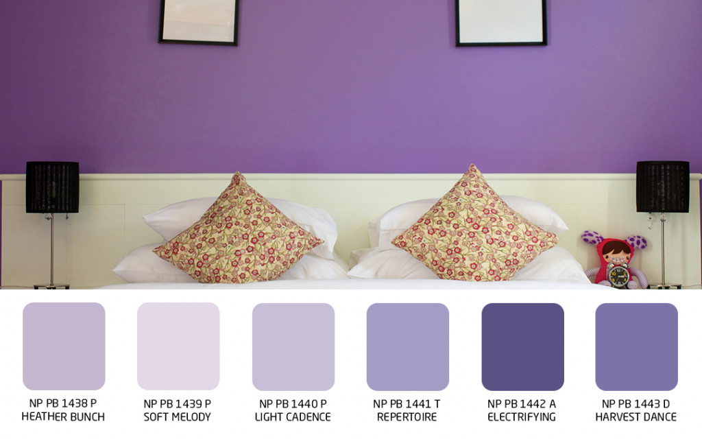 wall colour for vibrance in your bedroom